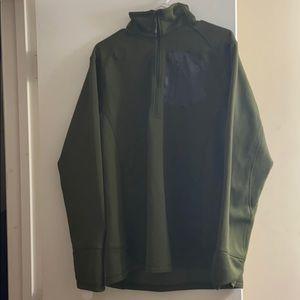 Northface quarter zip fleece